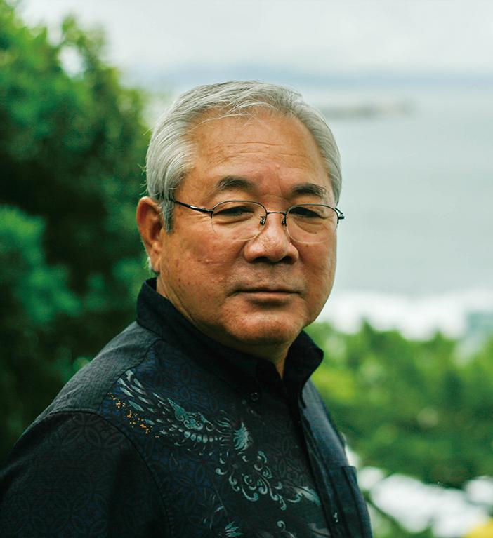 沖縄クリーン工業代表取締役社長 前田勝也