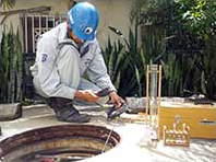 浄化槽保守(水質の検査)