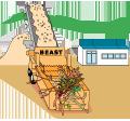 木質系廃棄物石川リサイクル工場イメージ
