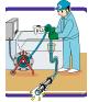 排水管TVカメラ調査イメージ