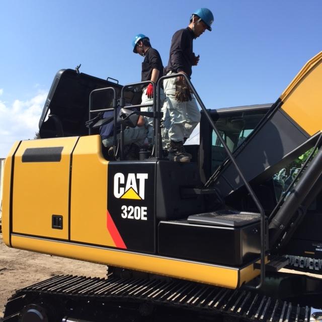 CAT320E チェック