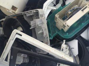 分解された廃プラスチック類