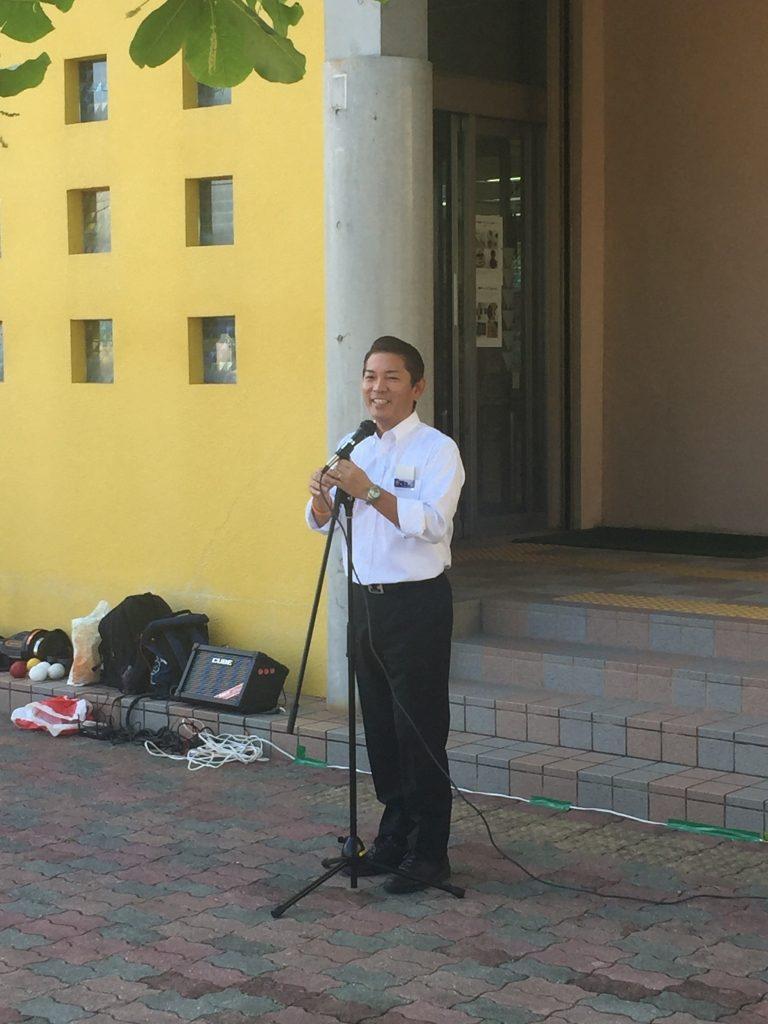 松本市長による挨拶