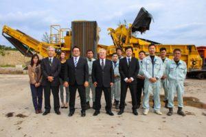 石川工場の集合写真
