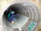 パムテルフローリング工法手順(表面・嵌合部材設置工)